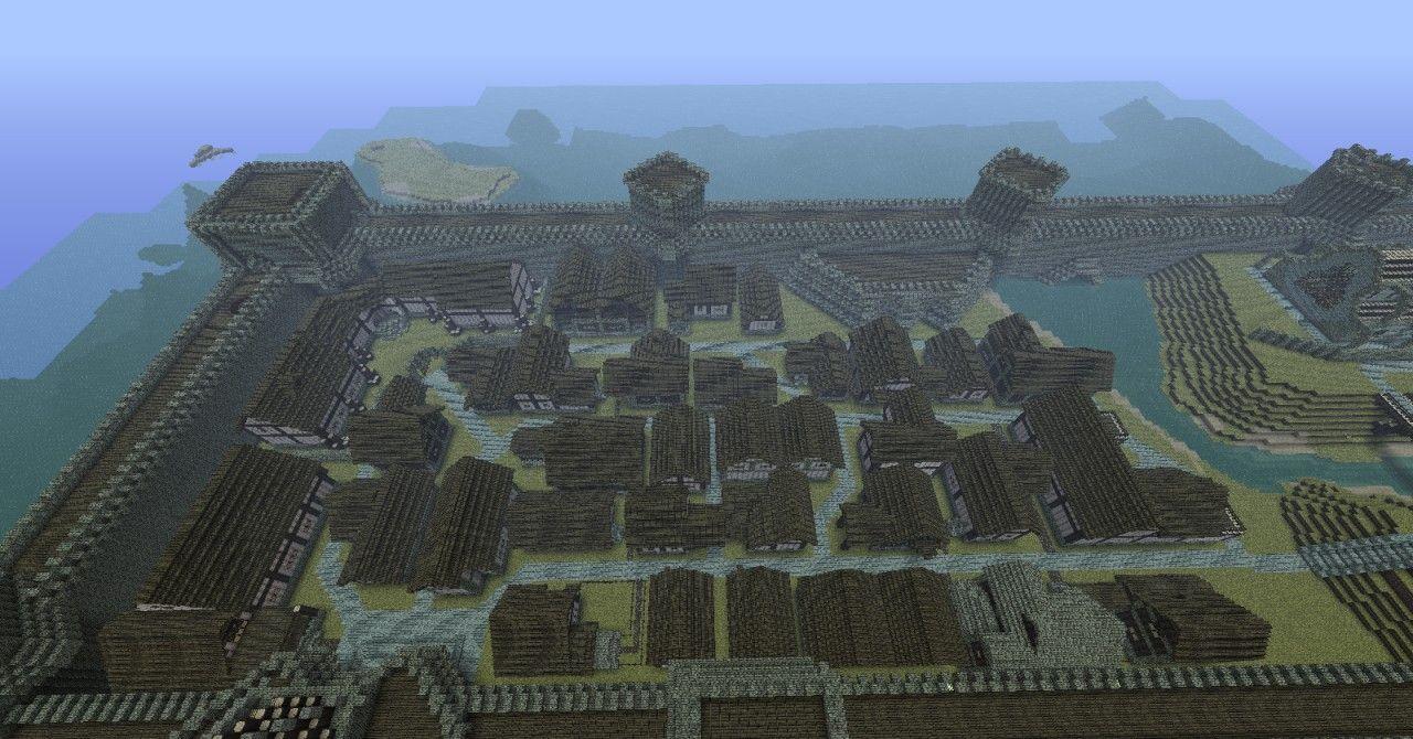 Minecraft Medieval Castle Blueprints