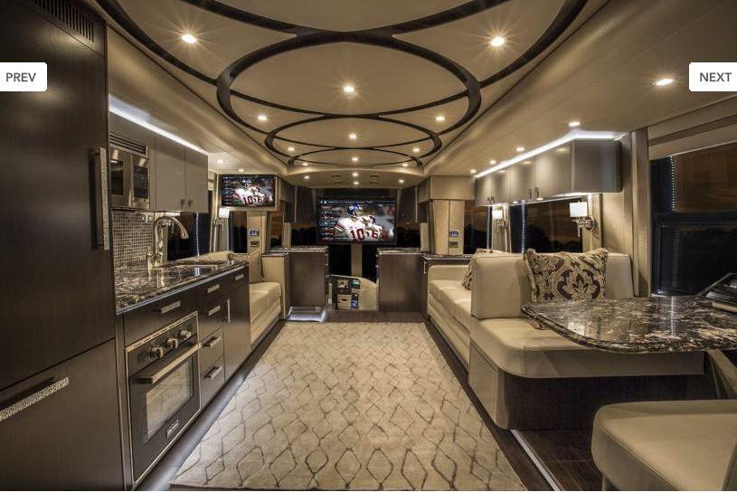 Modern And Elegant Interior RV WOW RV Designs And