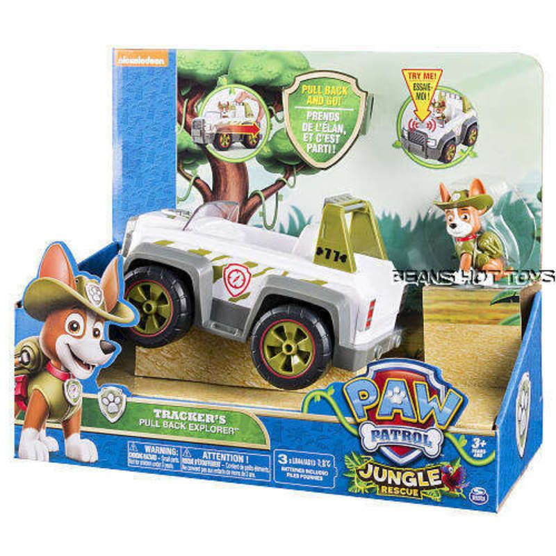 Paw Patrol Tracker's Pull Back & Sounds Explorer Vehicle