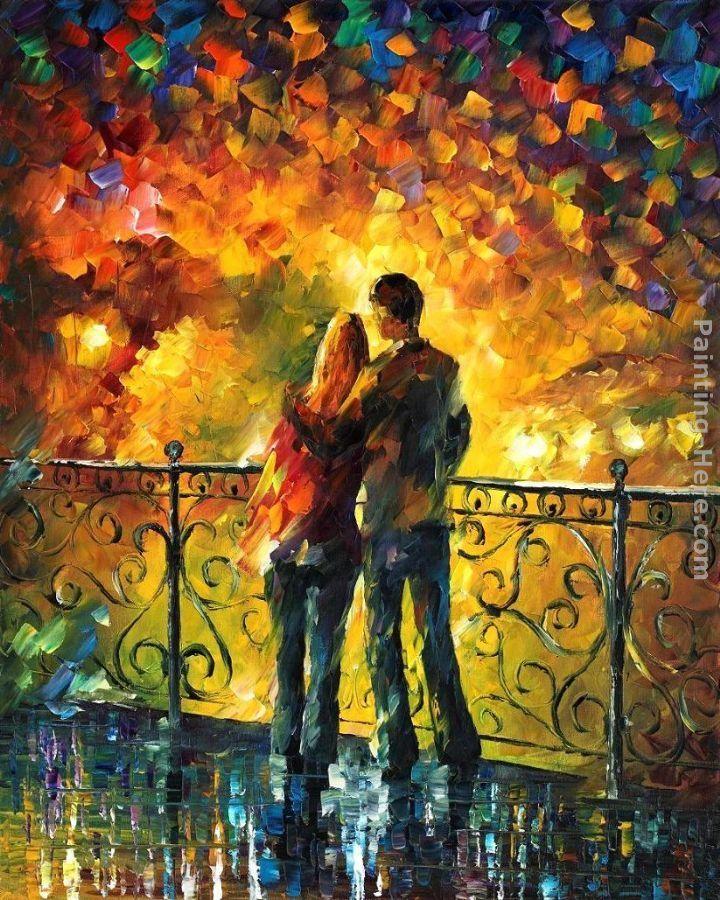 Leonid Afremov Best Paintings | Leonid Afremov Paintings - Leonid Afremov LAST DATE Painting