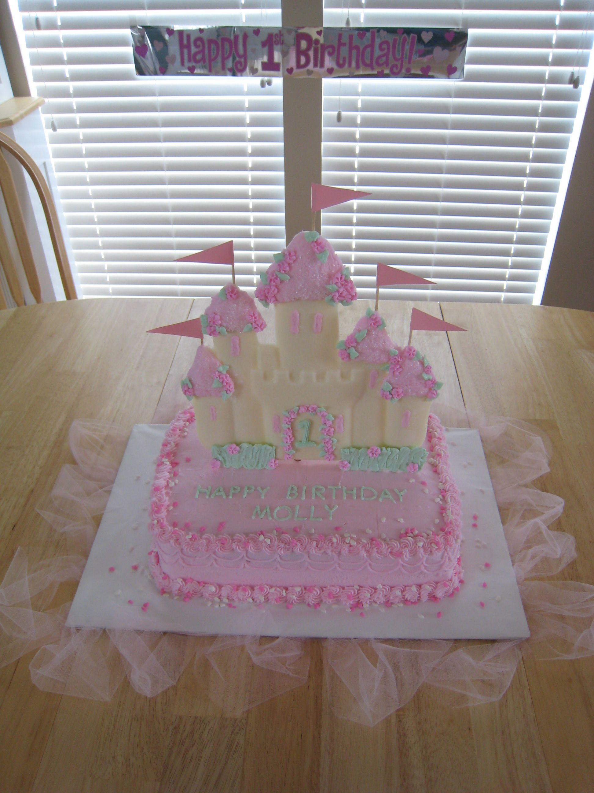 3d Princess Castle Cake