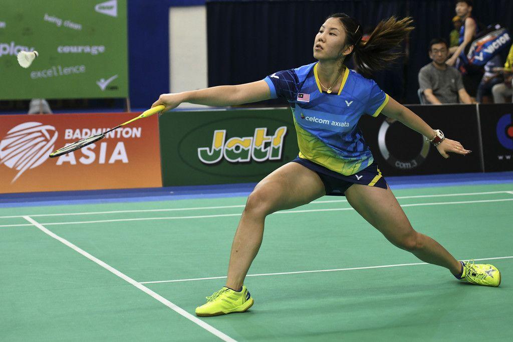 Soniia Cheah Photos Photos E Plus Badminton Asia Team Championships 2018 In 2020 Badminton Competing Photo