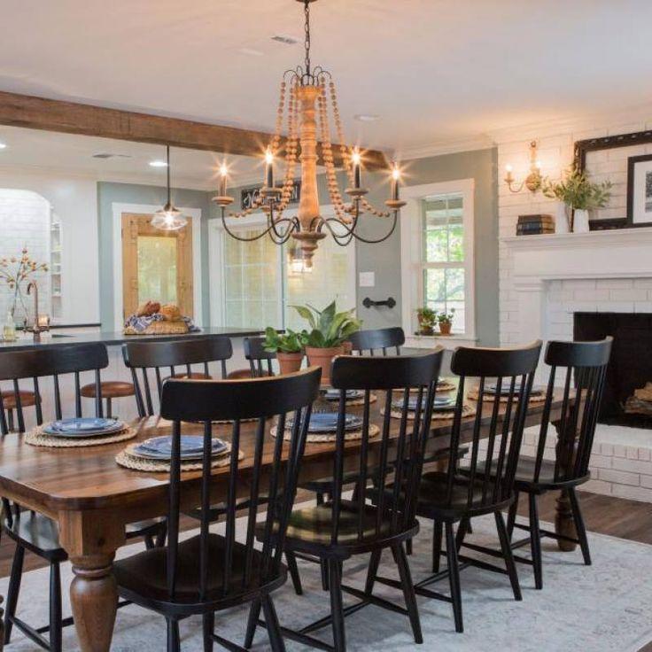 51+ Fixer Upper Dining Room Decor Ideas In 2019