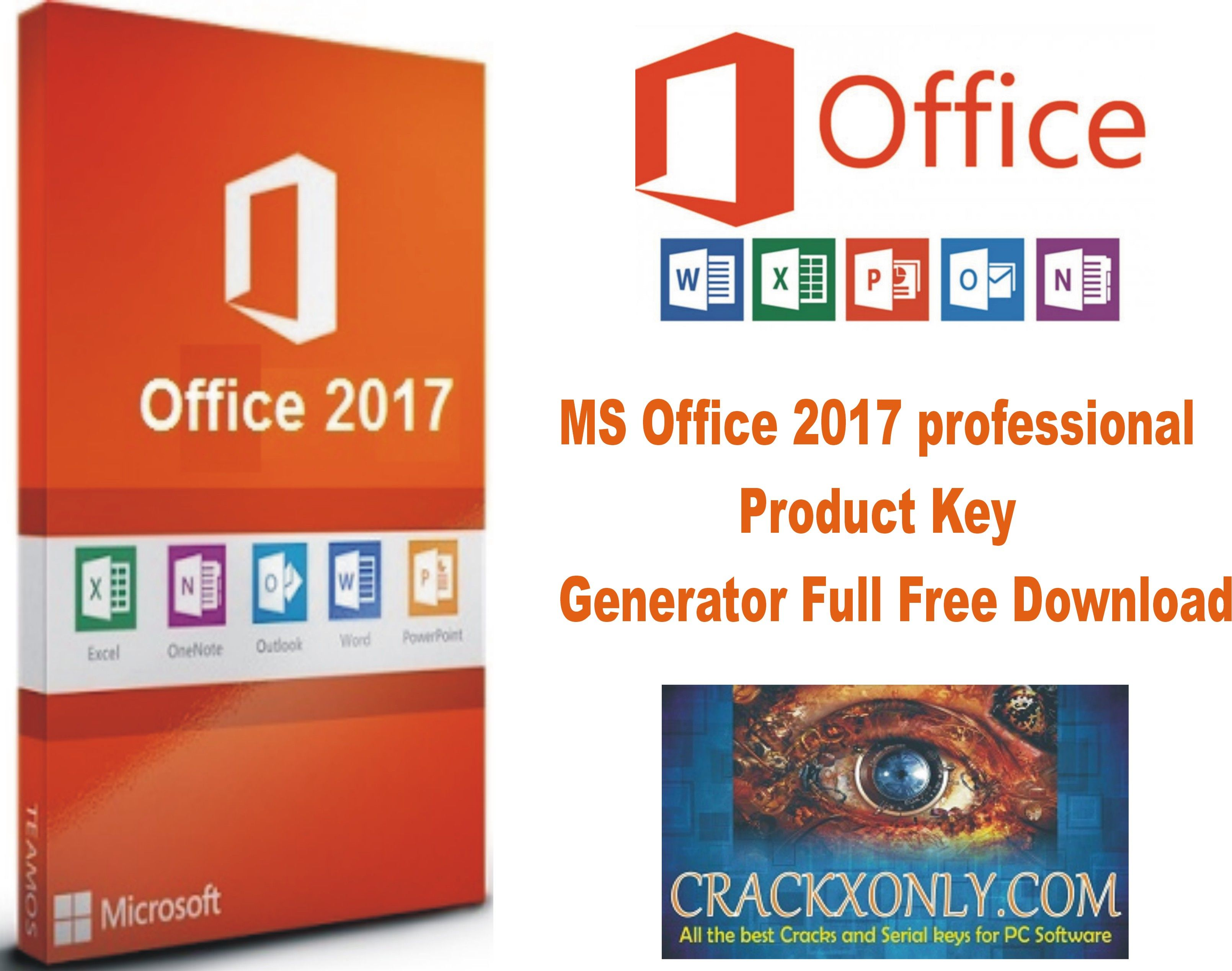 MS Office 2017 professional Product Key Generator Full ...