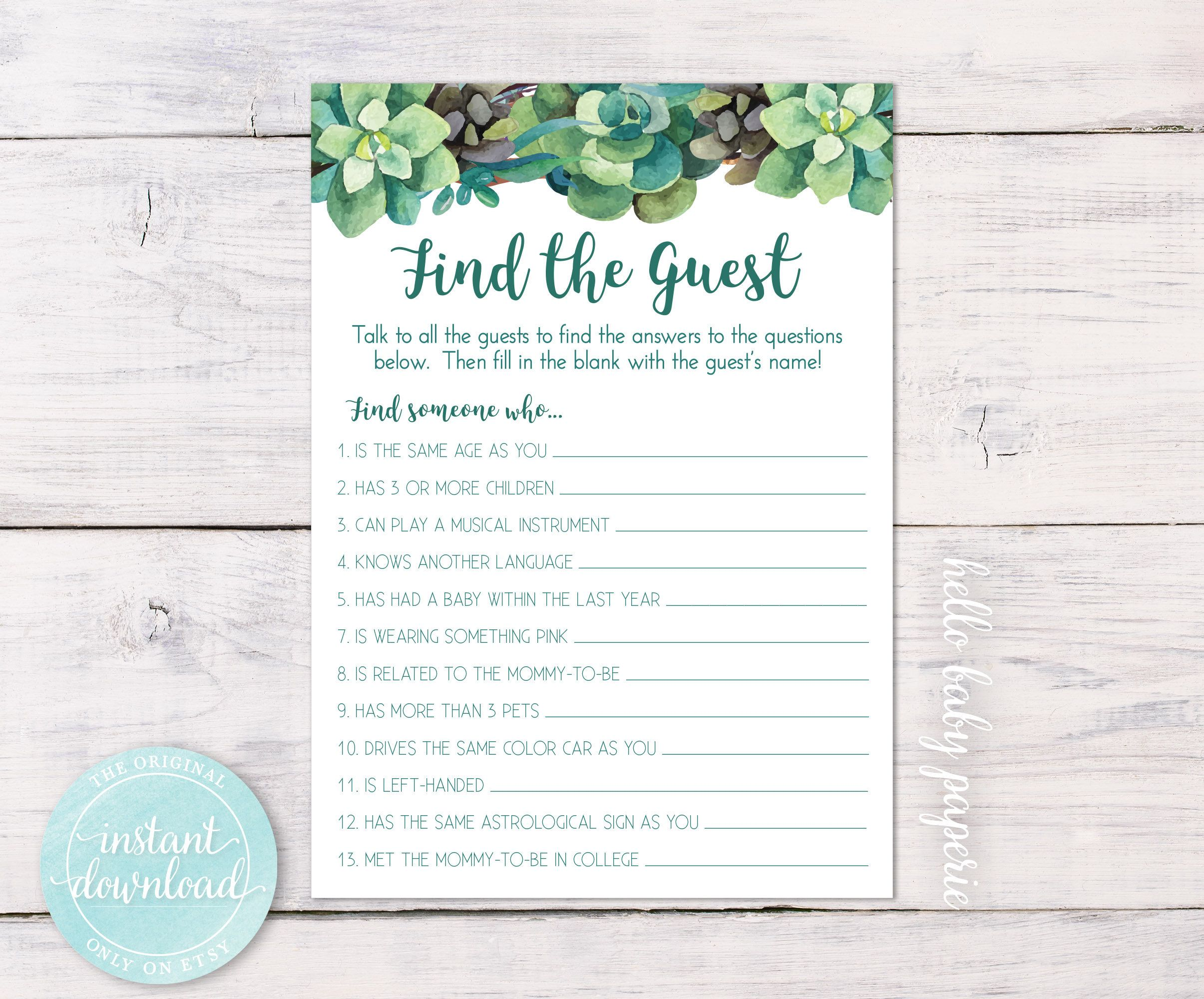 Baby shower name tag | Etsy