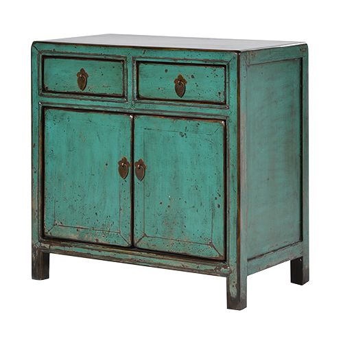 Small Chinese Distressed Cupboard Http Www La Maison Chic Turquoise Cabinetschinese Furniturecupboardsfuture Housebedside