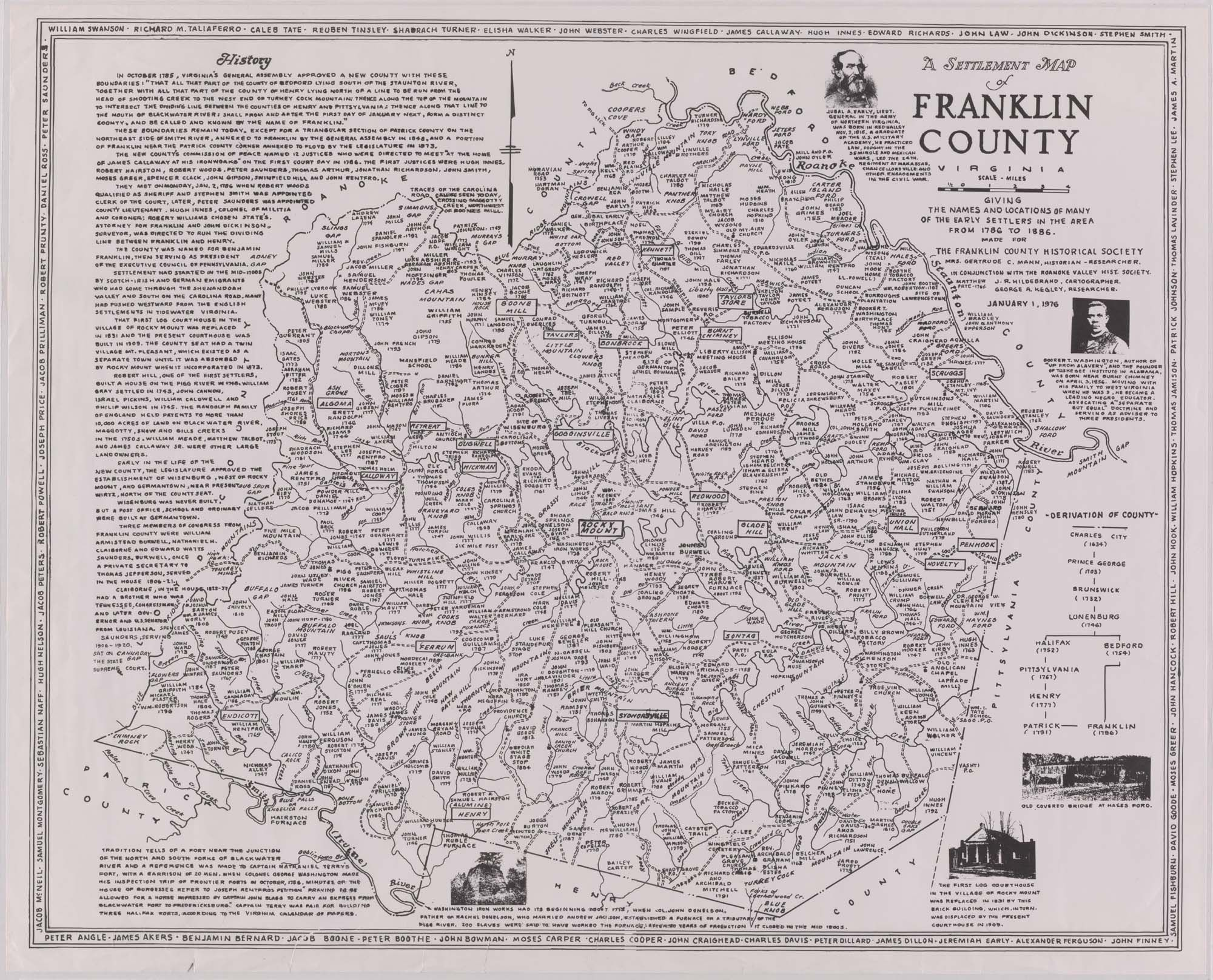 Franklin Virginia History Title A Settlement Map Of Franklin County Subject Virginia Franklin Genealogy Map Virginia History Genealogy Organization