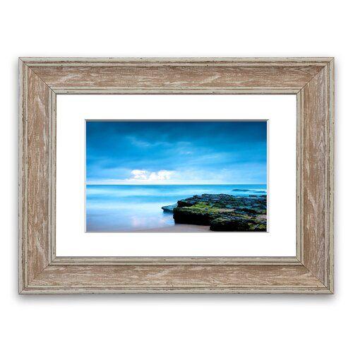 Photo of East Urban Home Framed Photographic Print Beach Shore | Wayfair.de