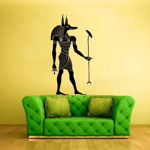Wall Decal Sticker Egypt Anubis Key Bedroom Z217