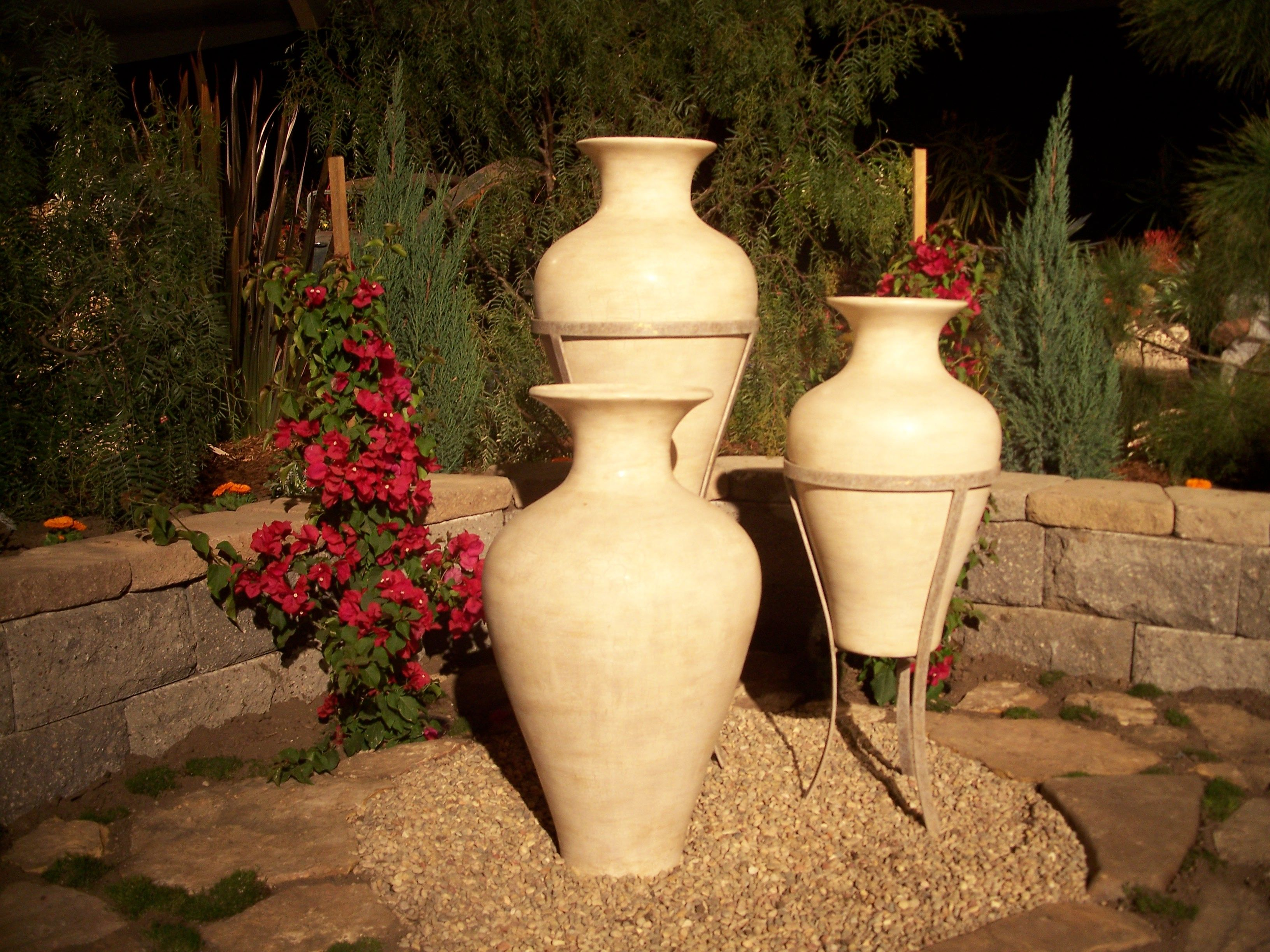 Awesome Vases U0026 Flagstone Featured At Garden Show In San Diego, Ca | Beautiful  Landscapes | Pinterest | Outdoor Gardens And Gardens