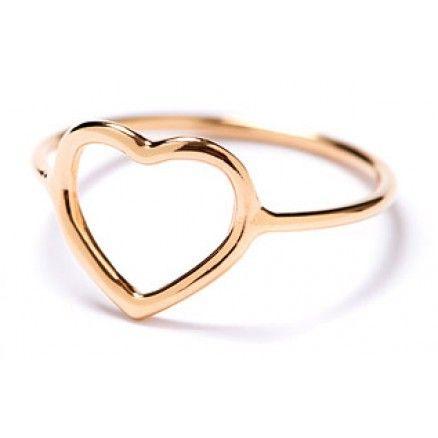 "Zarter rosévergoldeter Pop-Up Ring ""Herz"" von Sono Jewellery http://www.blissany.com/experten/sarah-steidel/pop-up-ring-herz-rosegold.html"
