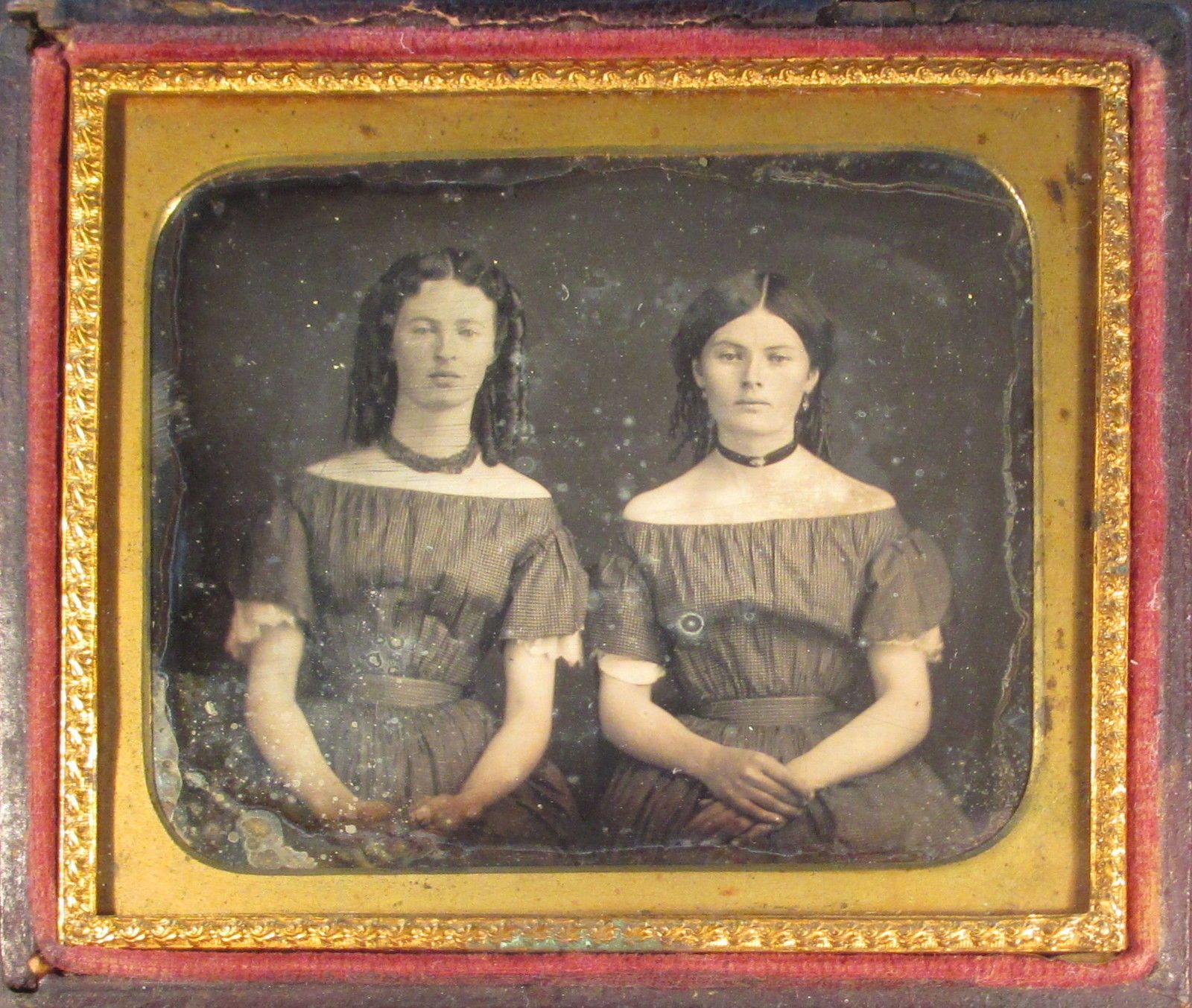 Sultry Sisters Daguerreotype | eBay