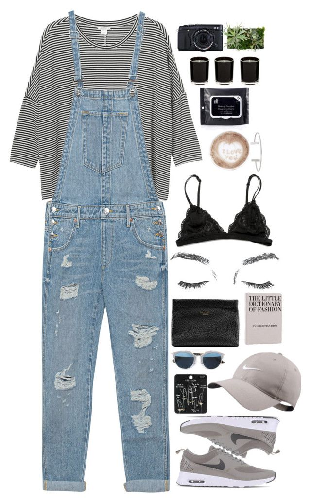 """Untitled #2717"" by wtf-towear ❤ liked on Polyvore featuring Monki, True Religion, NIKE, Topshop, Christian Dior, Acne Studios, Humble Chic and Linea"