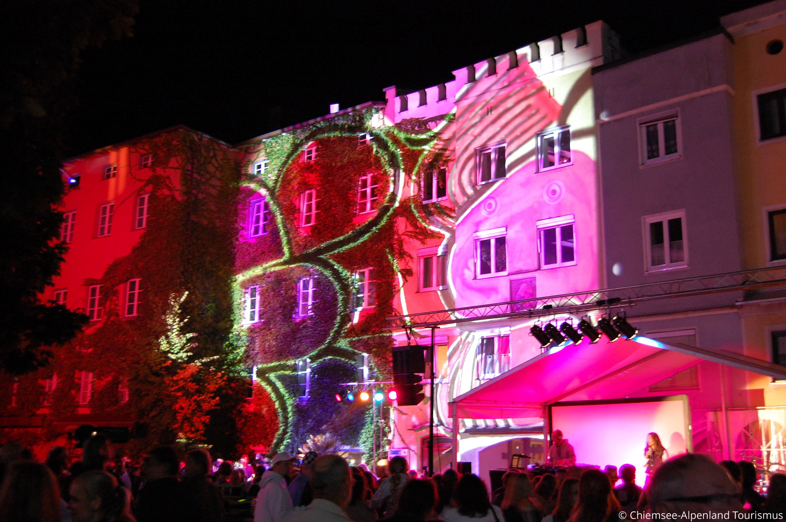 Veranstaltungen Neonschild