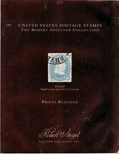 ROBERT ZOELLNER COLLECTION US POSTAGE STAMPS PRICES REALIZED
