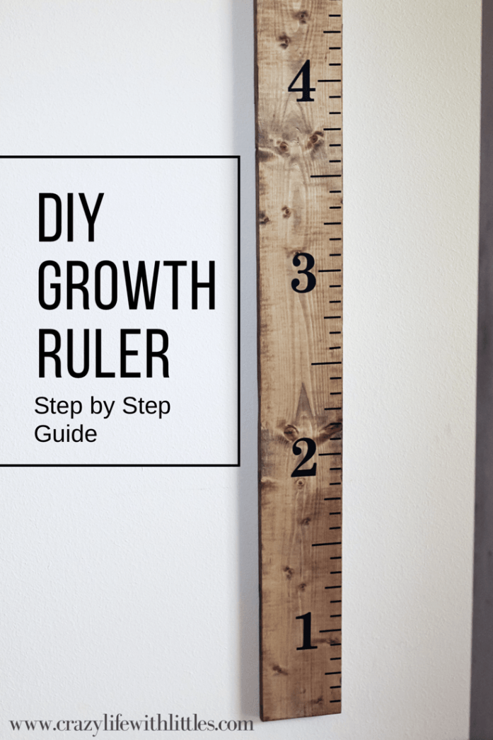 Diy Growth Ruler Diy Crafting Ideas Pinterest Woodworking