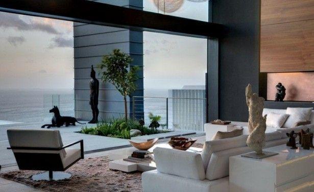 White-sofa-modern-chair-sea-view-home-design-615x376.jpg 615×376 pixels