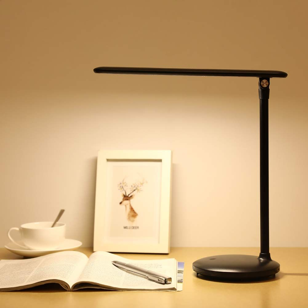 Led Desk Lamp For Study One Fire Rechargeable Table Lamps For Dorm Office Kids Children And Students Dimmable Adjustable Foldable T Touch Lamp Desk Lamp Lamp