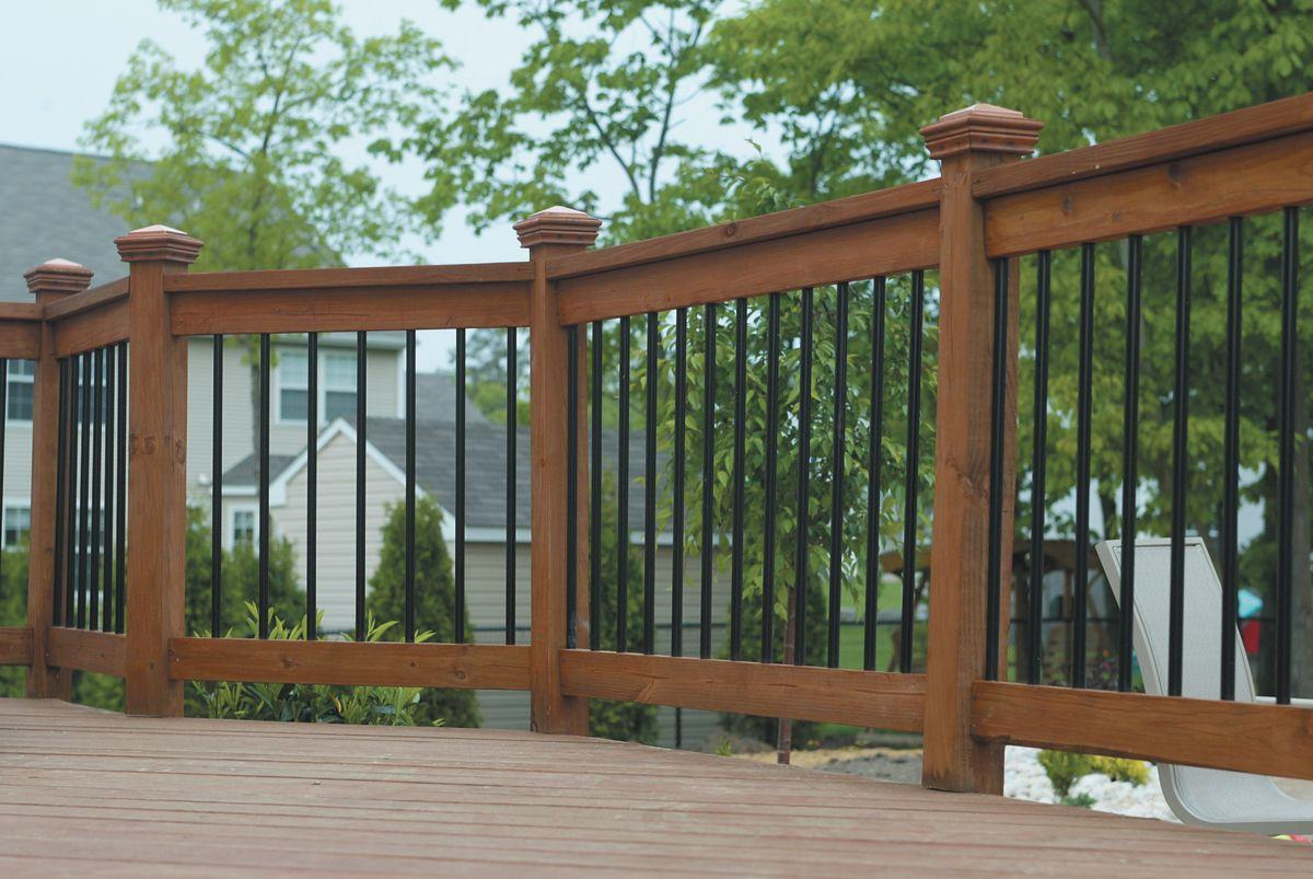 Composite Deck Railing Ideas View 100s of Deck Railing ...