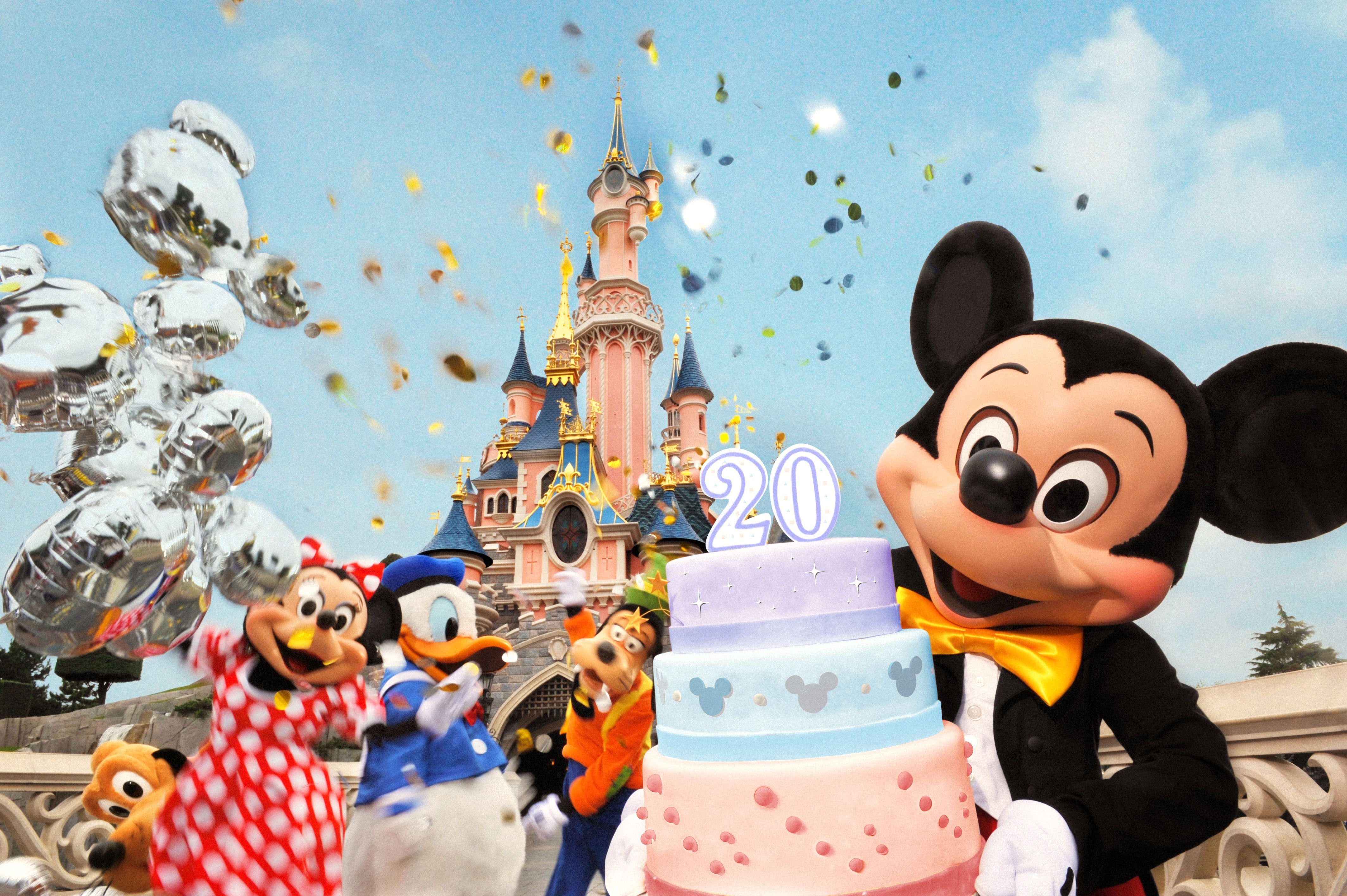 Happy birthday Disneyland Paris 20 years and counting at
