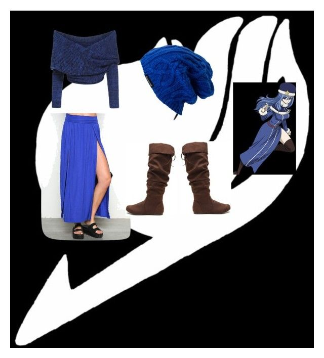 """Every-day Juvia cosplay"" by jessgray-jg on Polyvore featuring beauty, Juvia and Spacecraft"