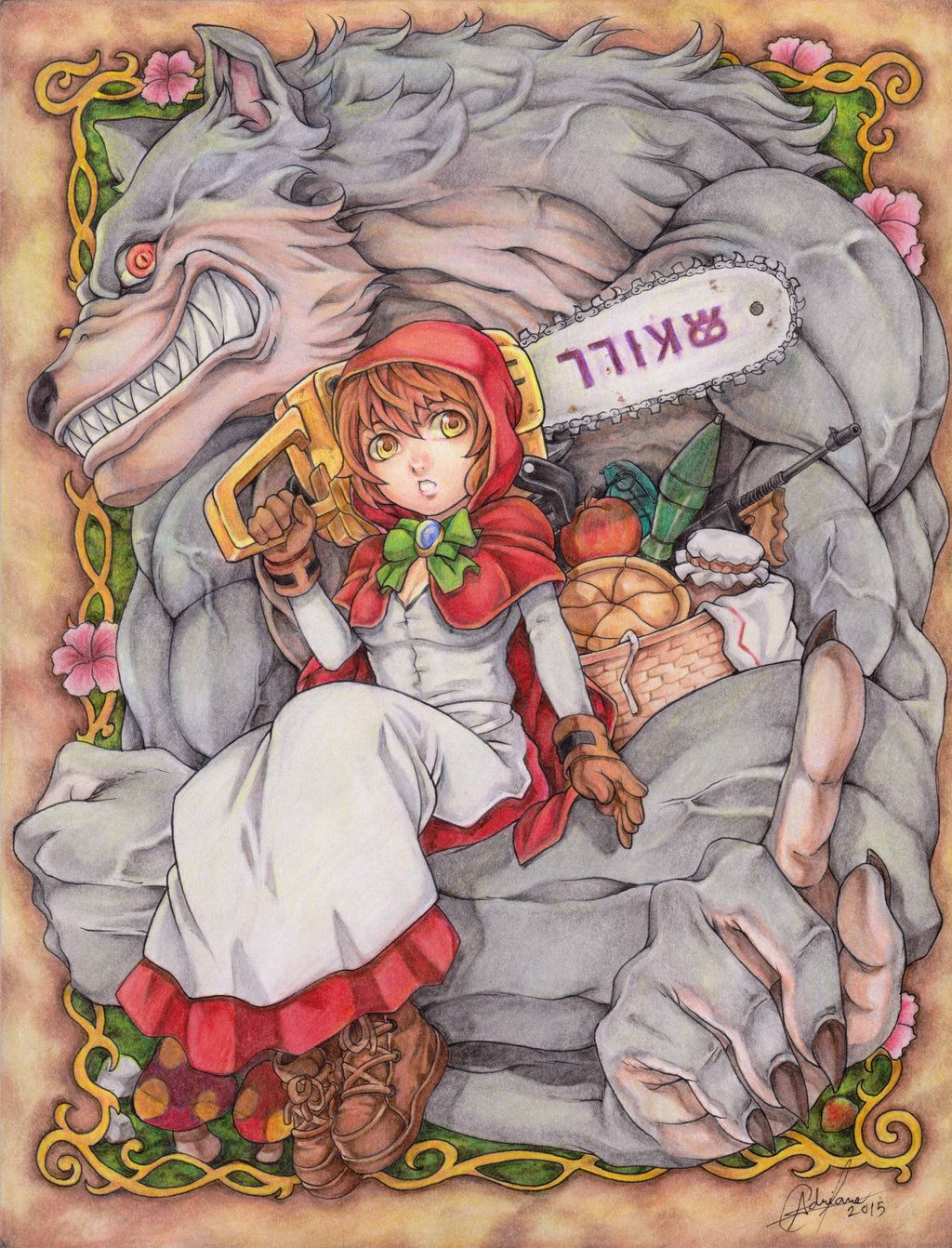 Little Red riding Hood by DRAB-APPLE on DeviantArt
