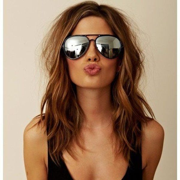50 Gorgeous Shoulder Length Hairstyles To Try This Year | Shoulder ...