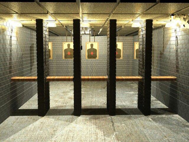 Home Indoor Shooting Range | Indoor shooting range, Shooting range ...