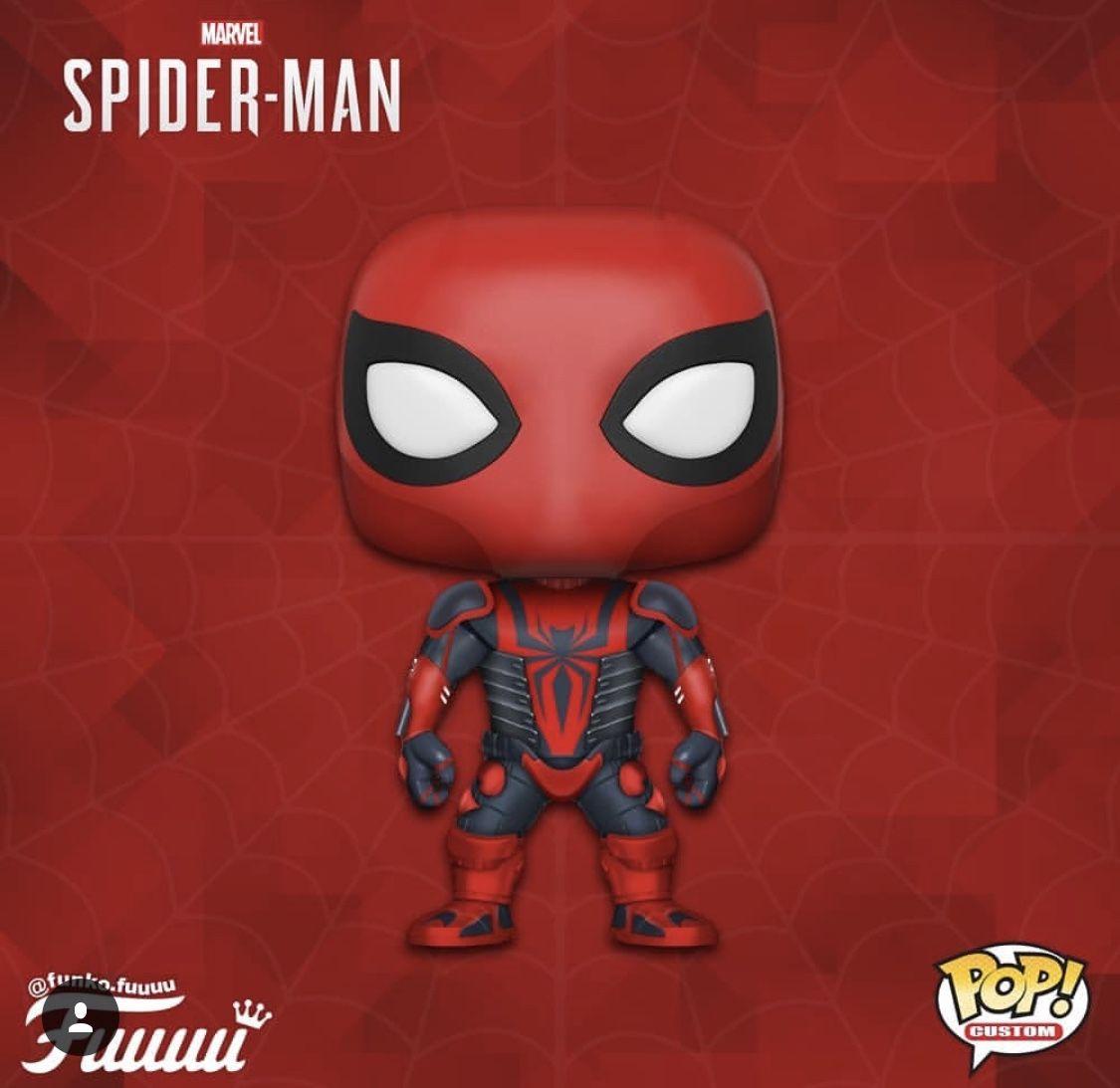- Spirit Spider Glow US Exclusive Pop Spider-Man Video Game 2018 Vinyl
