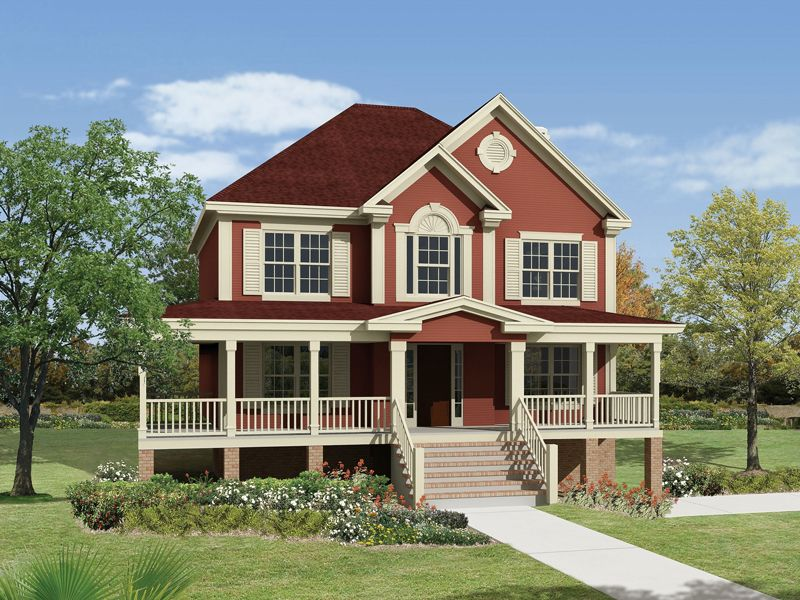 This site has many great house plans. I really like this