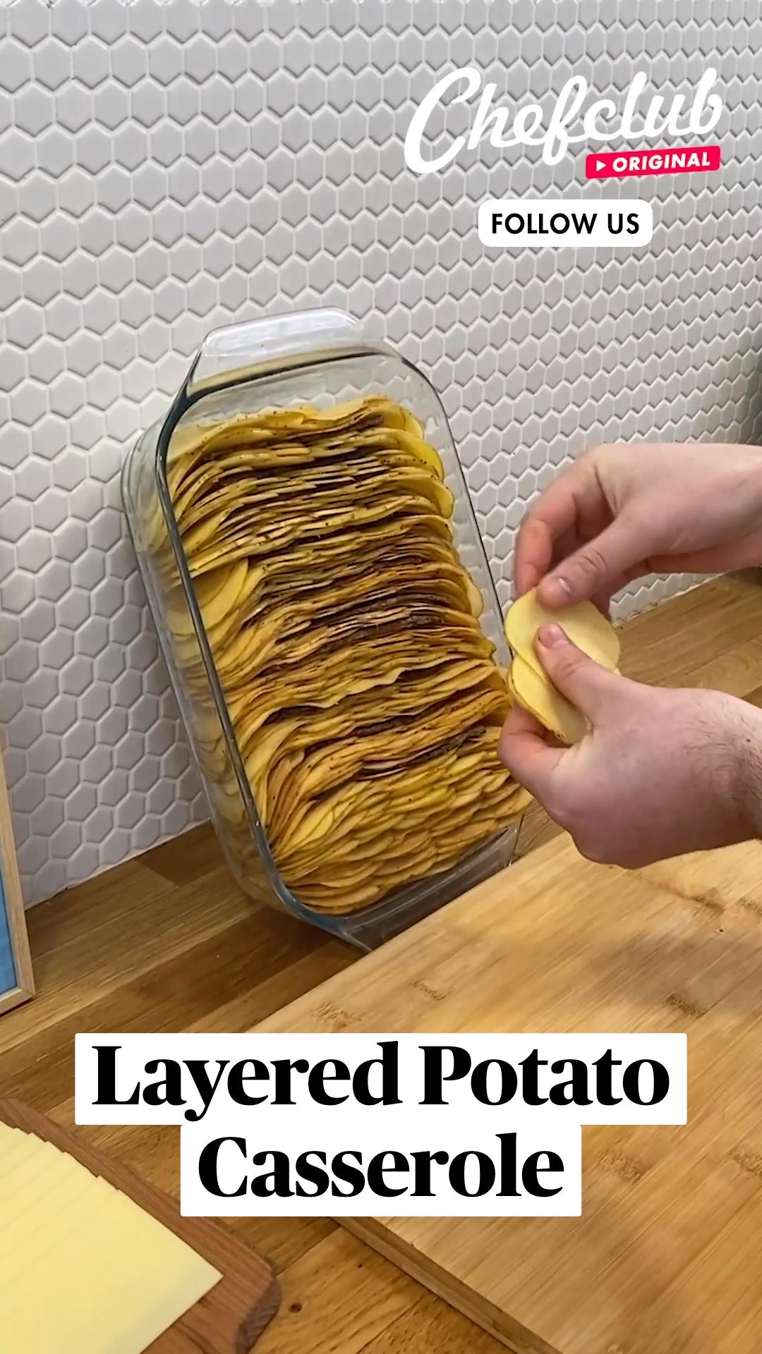 Layered Potato Casserole
