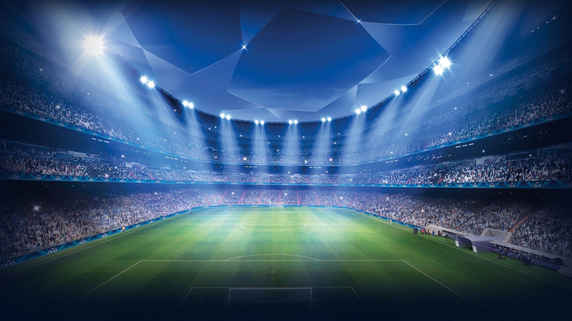 Beautiful Moderni nogometni stadion Wallpaper HD Pozadine