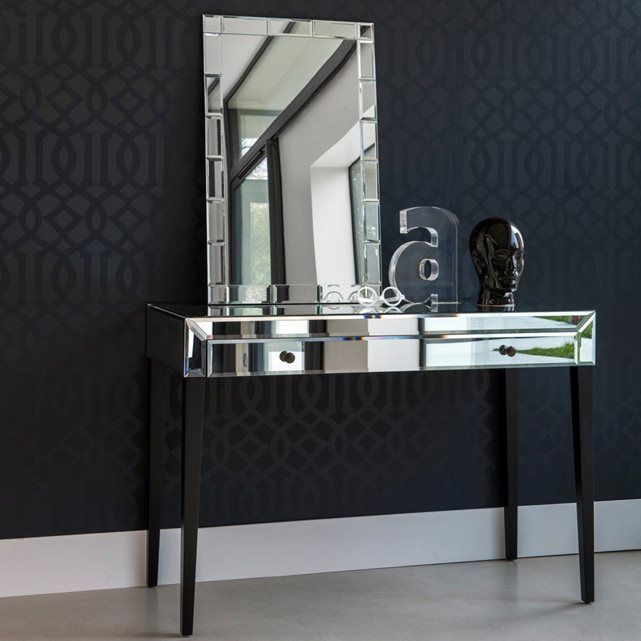 console miroir clim ne la redoute miroirs et chambres parentales. Black Bedroom Furniture Sets. Home Design Ideas
