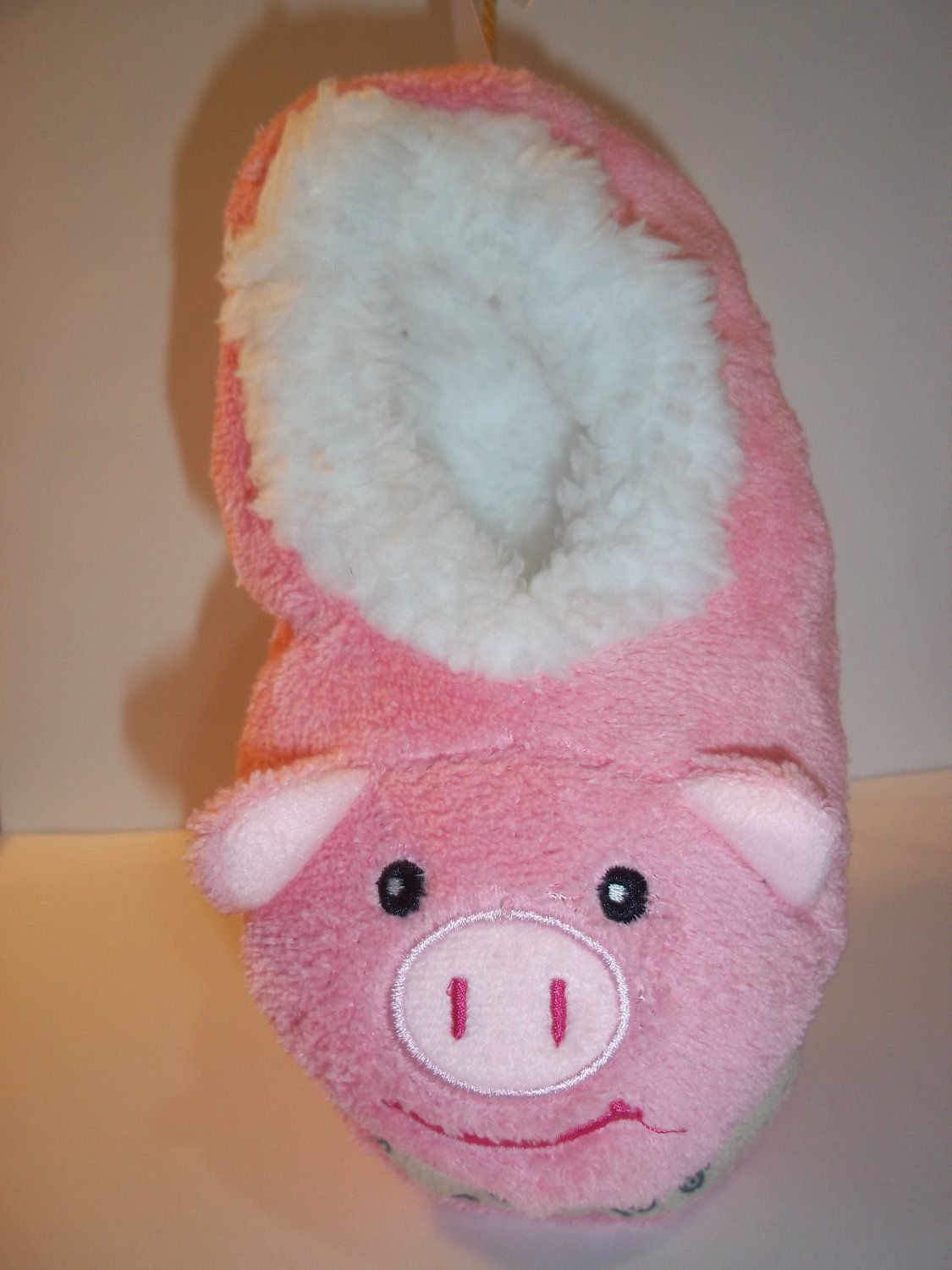 4c777d0d9158 Snoozies Animal Head Slippers - Pink PIG Pattern - Kids Size Small 13-1