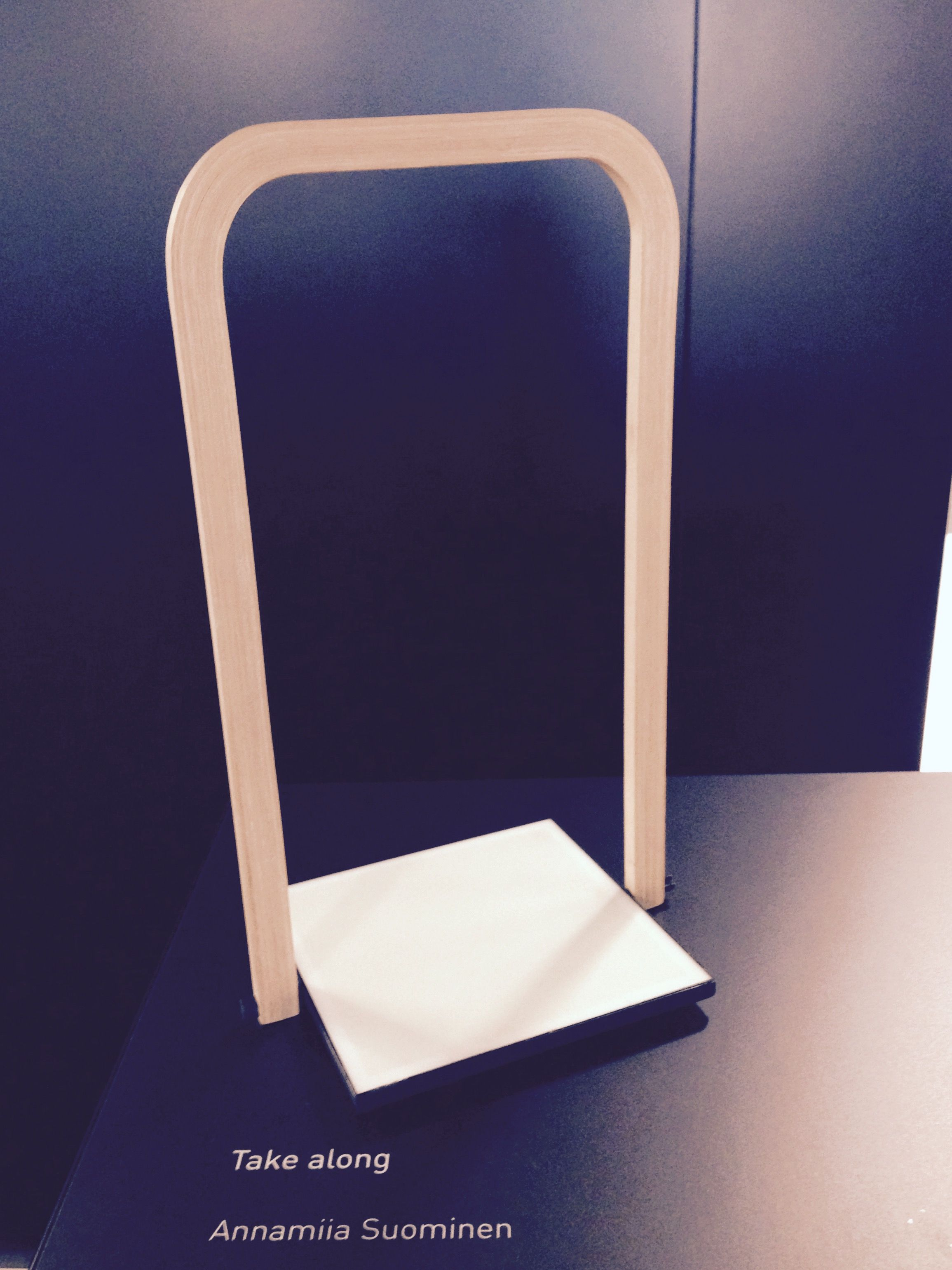 Take Along Oled Lamp By Annamiia Suominen At Habitare 2015 Charging Circuit Repaired And Oled Installed At Aalto Fablab