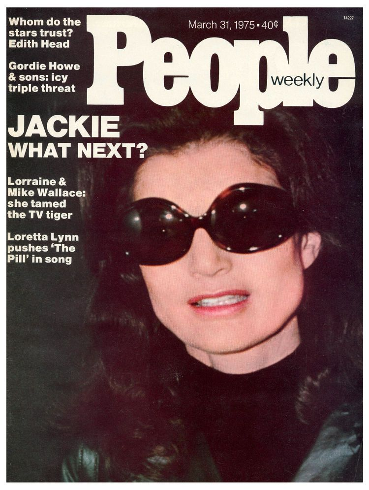 TV And Movie Screen Magazine Carloine And Jackie Onassis