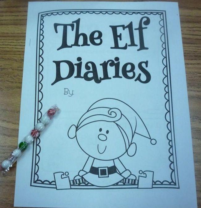 Classroom Elf on the Shelf: Elf Diary | Elves, Shelves and December