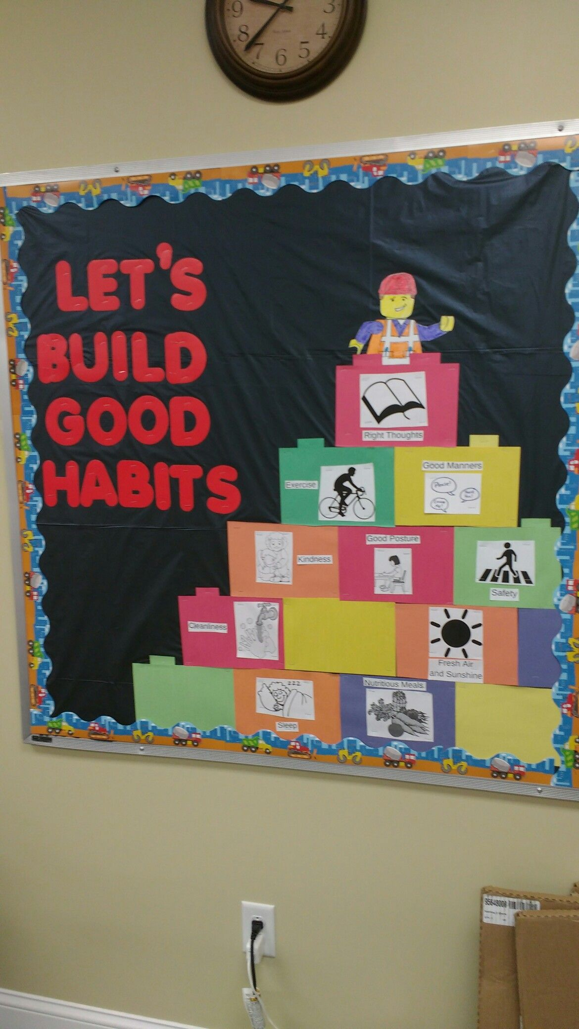 Health and safety bulletin board