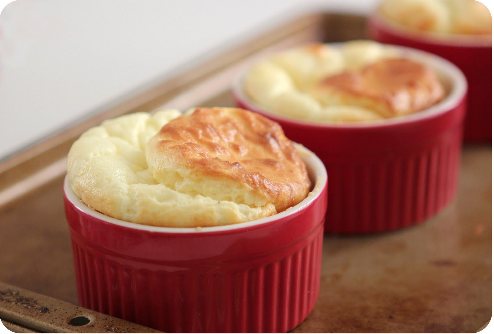 Cheese Soufflé (with video).