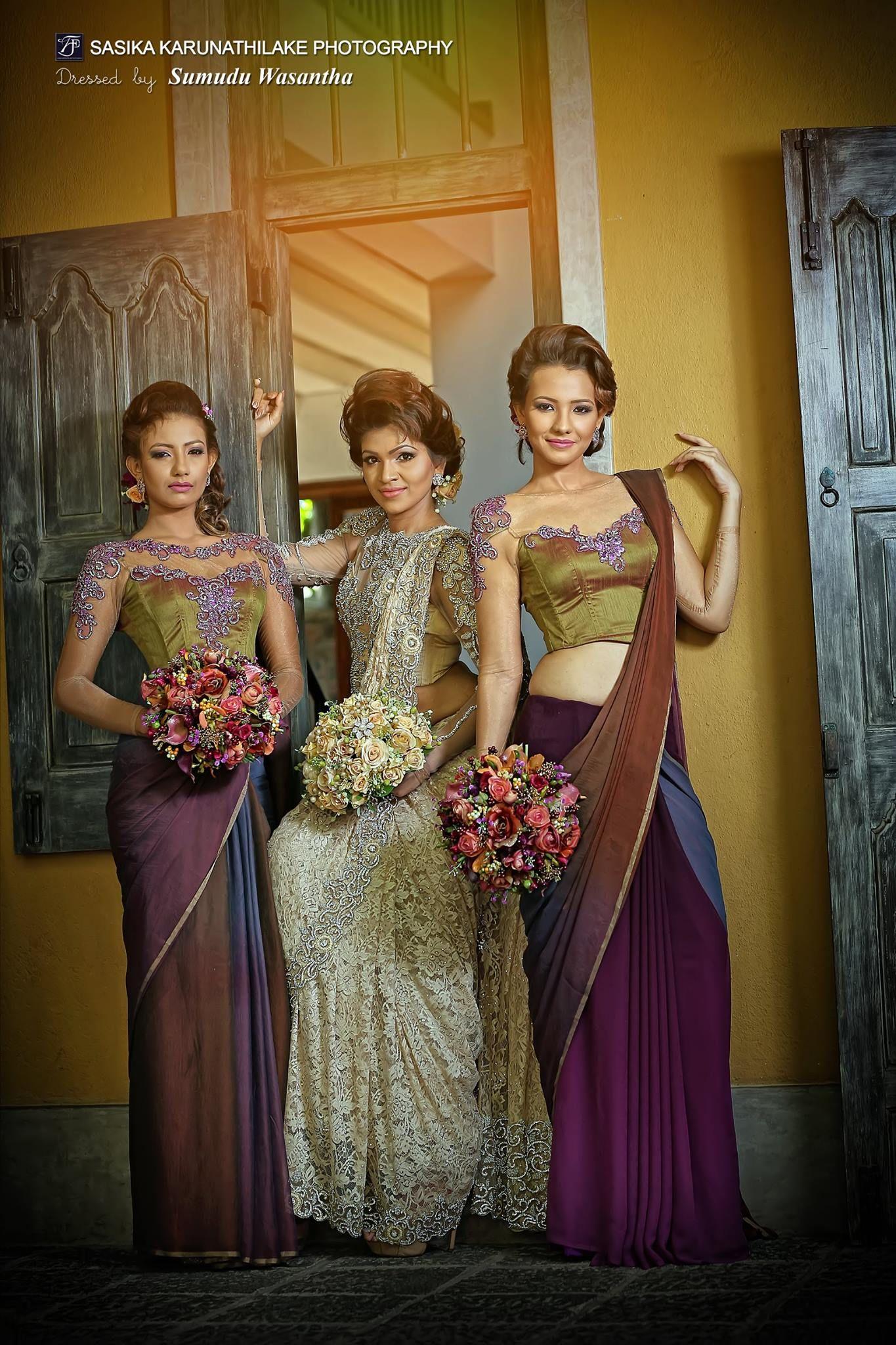 Sri lankan wedding sri lankan weddings pinterest for Wedding party dresses in sri lanka