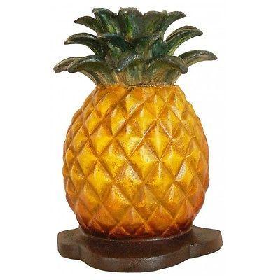 Cast Iron Pineapple Door Stop
