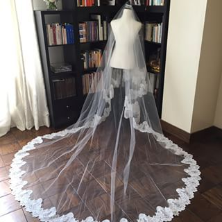 This cathedral veil is still one of my favourite pieces to date