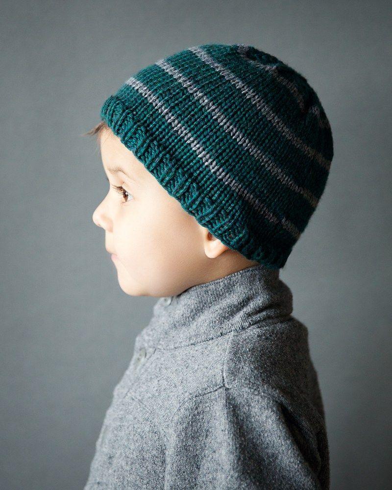 Toddler Boy Beanie Knitting Pattern | DIY - crafts and art ...