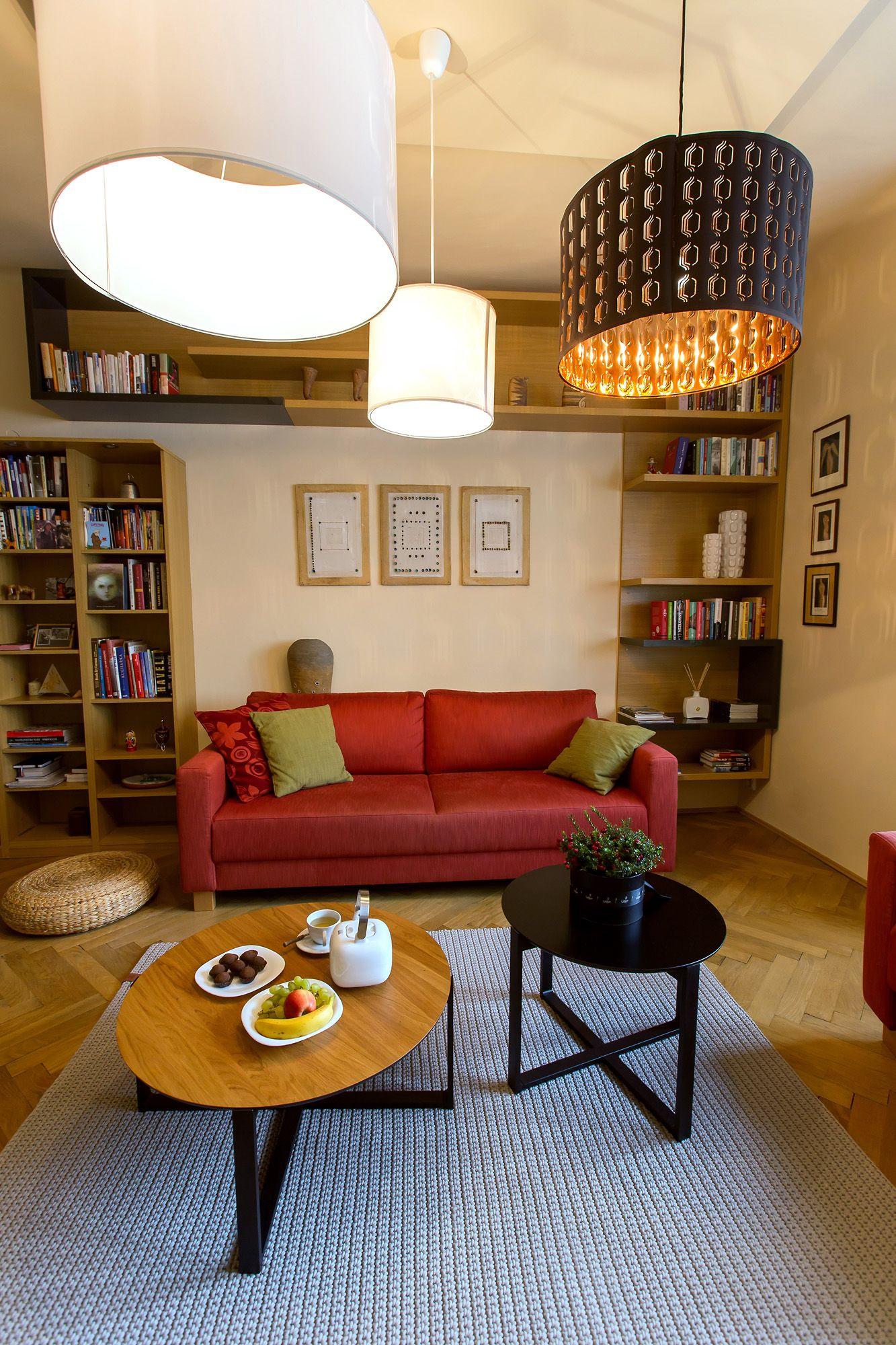 Obývací pokoj pro mou kamarádku Marcelku v centru Brna