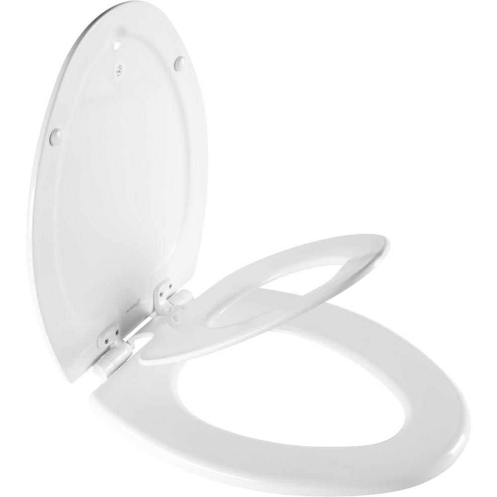 Bemis Nextstep2 Children S Elongated Closed Front Toilet Seat In