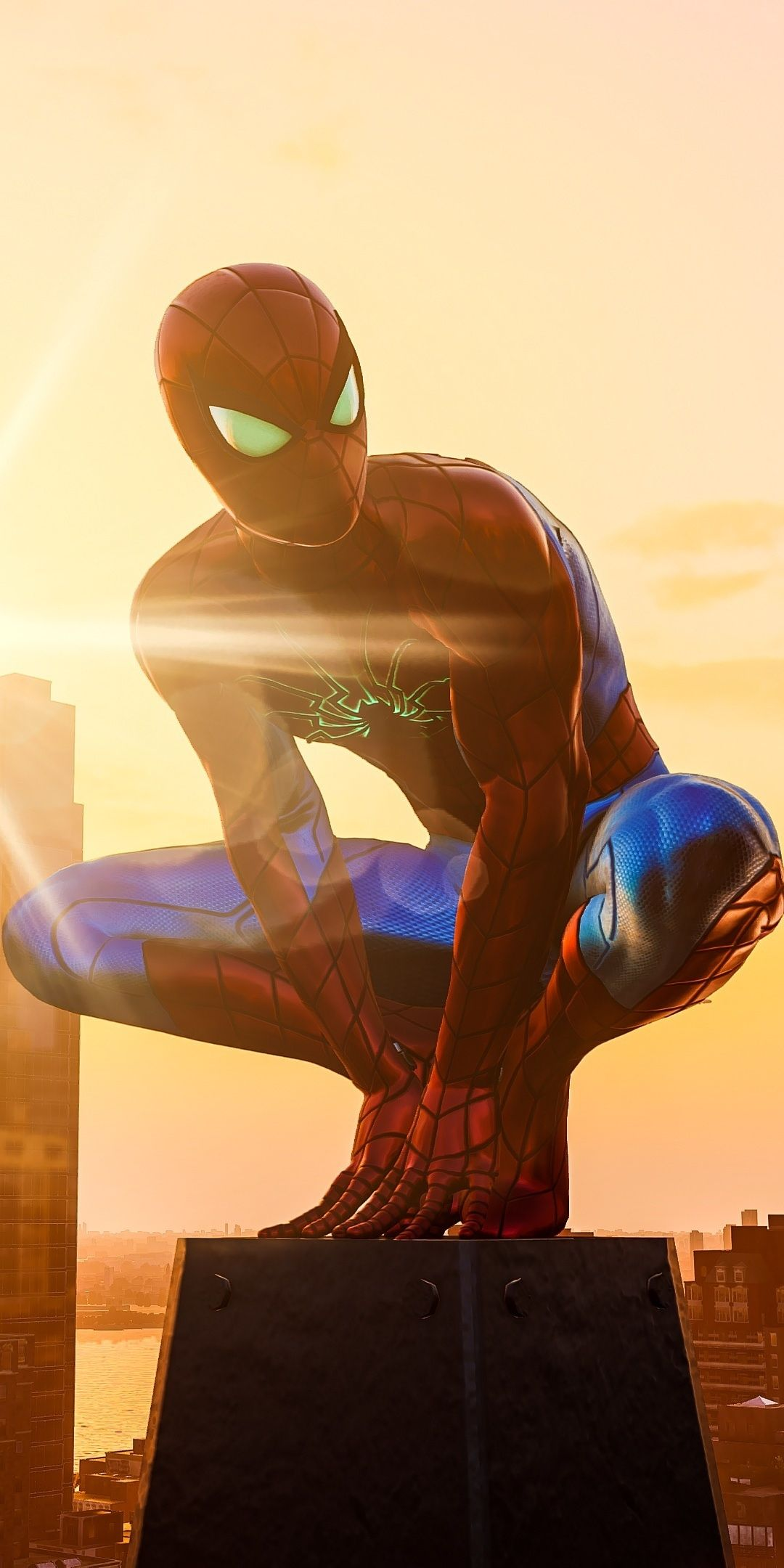 1080x2160 Spiderman PS4, game, 2020 wallpaper in 2020