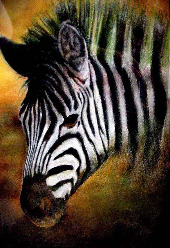 zebra by ~czochanska on deviantART