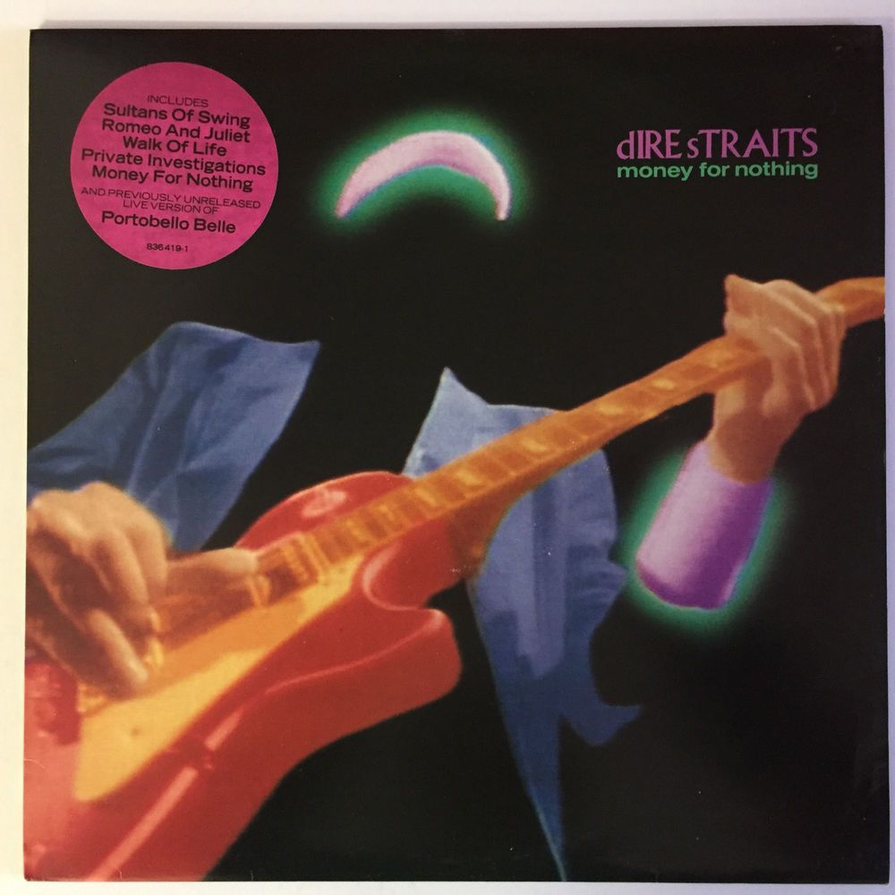 Dire Straits Money For Nothing Lp With Inner Sleeve Excellent Condition Money For Nothing How To Get Money Dire Straits
