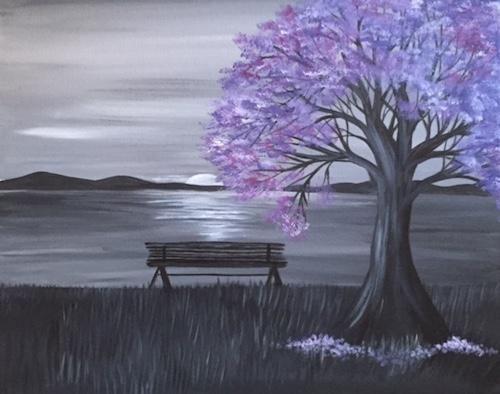 Pin Af Heidi Vang Pa Botanik Og Natur Kunstvaerk Malerier Akryl Maleri