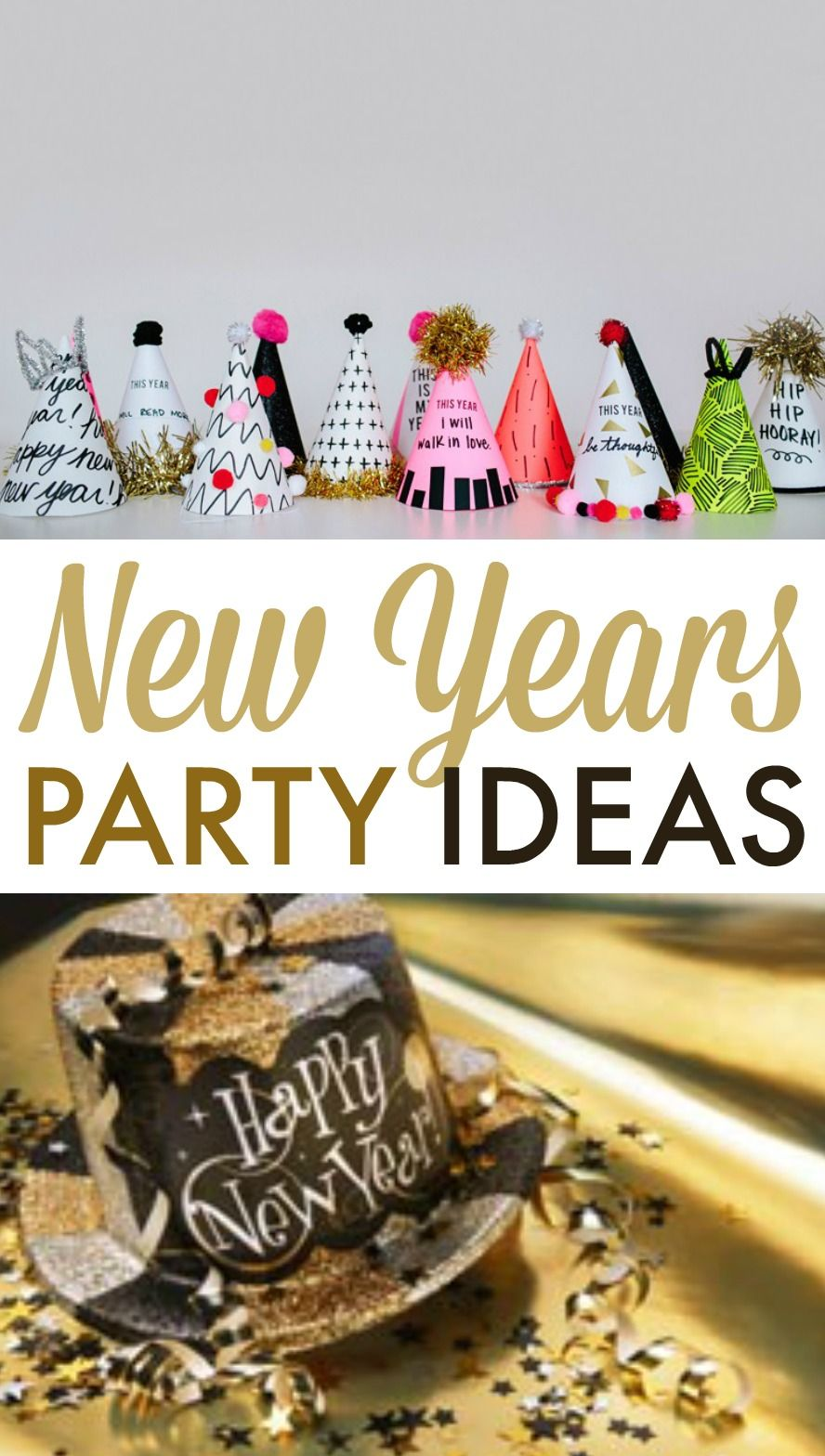 New Years Party Ideas Diy party crafts, Diy party favors